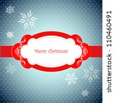 christmas background with... | Shutterstock .eps vector #110460491