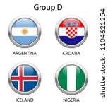 group d. shiny metallic icons... | Shutterstock .eps vector #1104621254