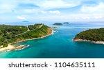 promthep cape top view phuket ... | Shutterstock . vector #1104635111