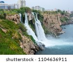 the waterfall of antalya... | Shutterstock . vector #1104636911