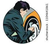 stock illustration. mechanic... | Shutterstock .eps vector #1104641861
