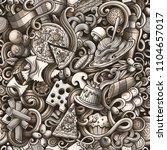 cartoon cute doodles hand drawn ...   Shutterstock .eps vector #1104657017