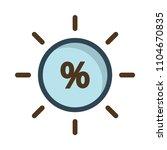 discount sale percentage    Shutterstock .eps vector #1104670835
