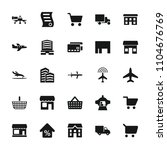 commercial icon. collection of...   Shutterstock .eps vector #1104676769
