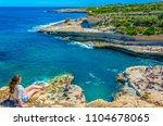 marsaxlokk  malta  april 30 ... | Shutterstock . vector #1104678065