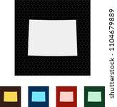 map of colorado   Shutterstock .eps vector #1104679889
