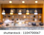 abstract blur of cafe coffee... | Shutterstock . vector #1104700067
