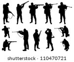 Hunters Silhouettes Collection