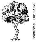 vector illustration of a... | Shutterstock .eps vector #1104715751