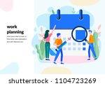 vector illustration  whiteboard ... | Shutterstock .eps vector #1104723269