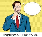 vector colorful  comic style... | Shutterstock .eps vector #1104727907