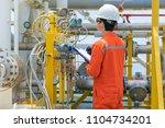 technician operator record... | Shutterstock . vector #1104734201