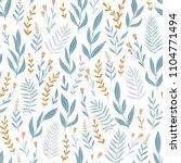 light blue seamless pattern... | Shutterstock .eps vector #1104771494