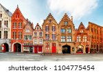 bruges   view on jan van eyck... | Shutterstock . vector #1104775454