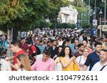 bucharest  romania   june 02 ... | Shutterstock . vector #1104792611