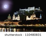 The Cityscape Of Salzburg Over...