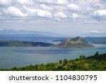 beautiful landscape at tagaytay ...   Shutterstock . vector #1104830795