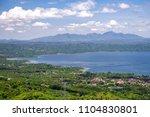 beautiful landscape at tagaytay ...   Shutterstock . vector #1104830801