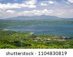 beautiful landscape at tagaytay ...   Shutterstock . vector #1104830819