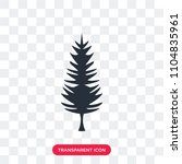 tall pine tree vector icon... | Shutterstock .eps vector #1104835961