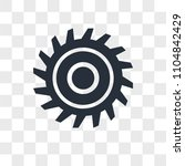 saw blade vector icon isolated... | Shutterstock .eps vector #1104842429