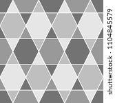 mosaic. triangles  hexagons... | Shutterstock .eps vector #1104845579