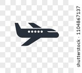 air transport vector icon... | Shutterstock .eps vector #1104867137