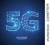 5g internet connection speed...   Shutterstock .eps vector #1104877079