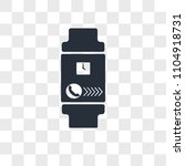 smartwatch vector icon isolated ... | Shutterstock .eps vector #1104918731
