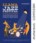Jazz Festival Poster With...