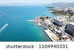 aerial drone bird's eye view... | Shutterstock . vector #1104940331