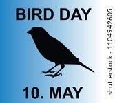 bird day  vector | Shutterstock .eps vector #1104942605
