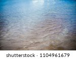 the cold blue water of the... | Shutterstock . vector #1104961679