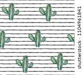 vector illustration. cactus.... | Shutterstock .eps vector #1104961841