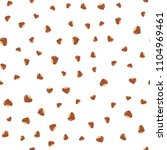 hazelnut seamless pattern. | Shutterstock .eps vector #1104969461