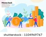 vector  illustration concept... | Shutterstock .eps vector #1104969767
