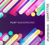 colorful geometric background... | Shutterstock .eps vector #1104977705