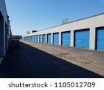 self storage units | Shutterstock . vector #1105012709