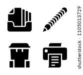 basic icon set. background ...