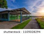 nong mo kang park evening in... | Shutterstock . vector #1105028294