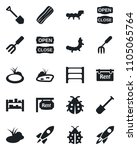 set of vector isolated black...   Shutterstock .eps vector #1105065764