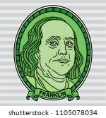 Cartoon Benjamin Franklin...