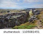 thingvellir  pingvellir ... | Shutterstock . vector #1105081451