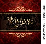 vintage background   Shutterstock .eps vector #110510801