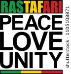 Peace  Love  Unity   Rastafari