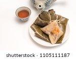 zongzi   traditional dragon... | Shutterstock . vector #1105111187