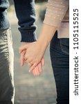 engagement photo announcement | Shutterstock . vector #1105115525