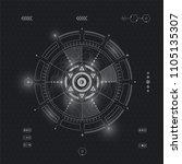 vector illustration abstract... | Shutterstock .eps vector #1105135307