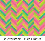 colorful mosaic in parquet form.... | Shutterstock .eps vector #1105140905