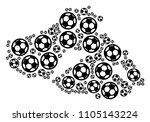 football greek lesbos island... | Shutterstock .eps vector #1105143224